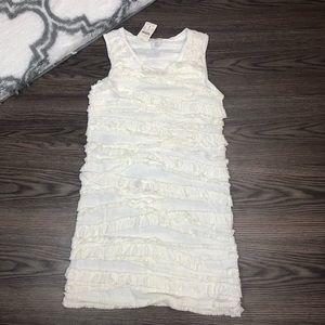 NWT Kids J. Crew Rolling Ruffle Dress Size 14